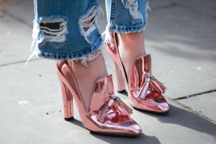 Trend: block heels