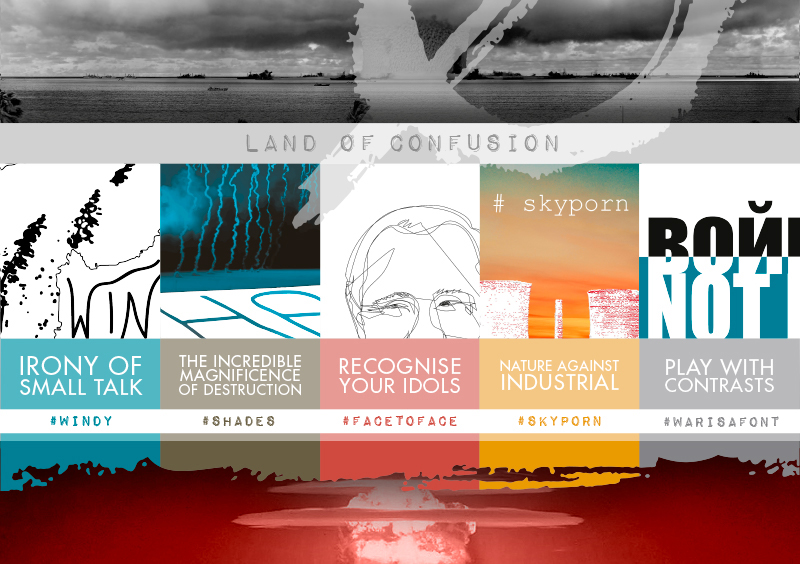 Nuove sinergie creative: Land of Confusion